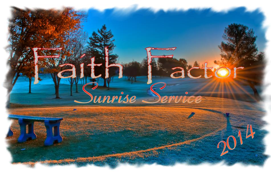 2014 Sonrise Service